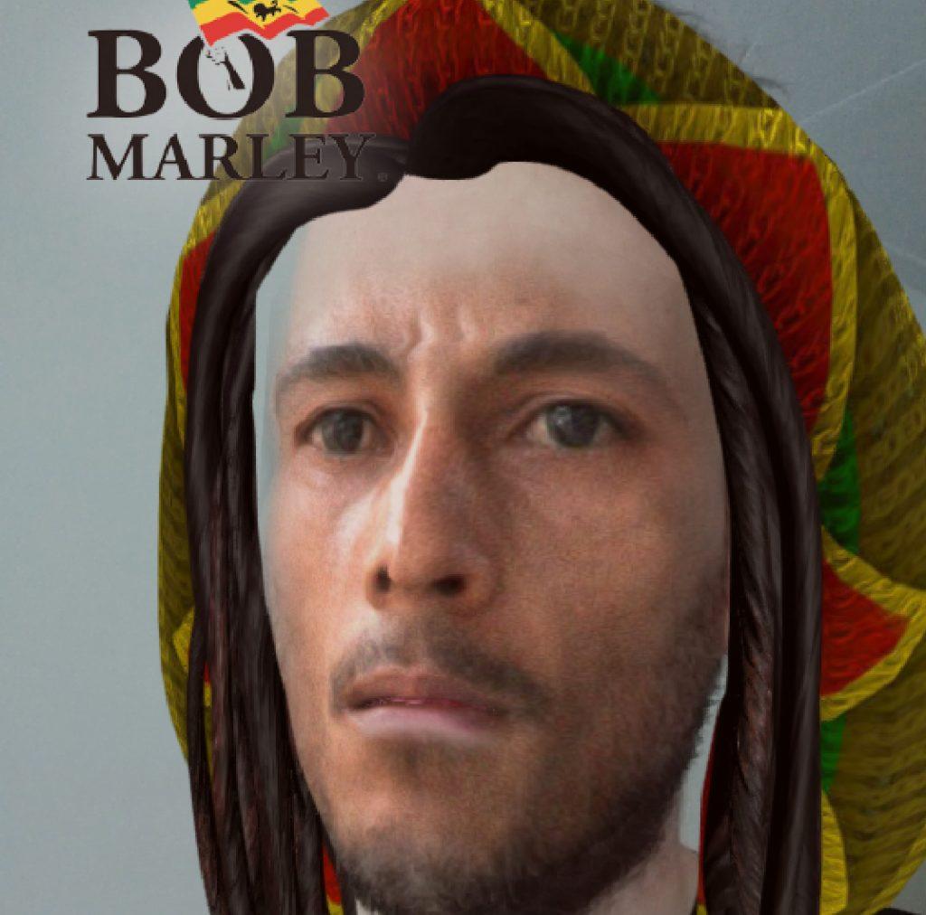 Snapchat Bob Marley