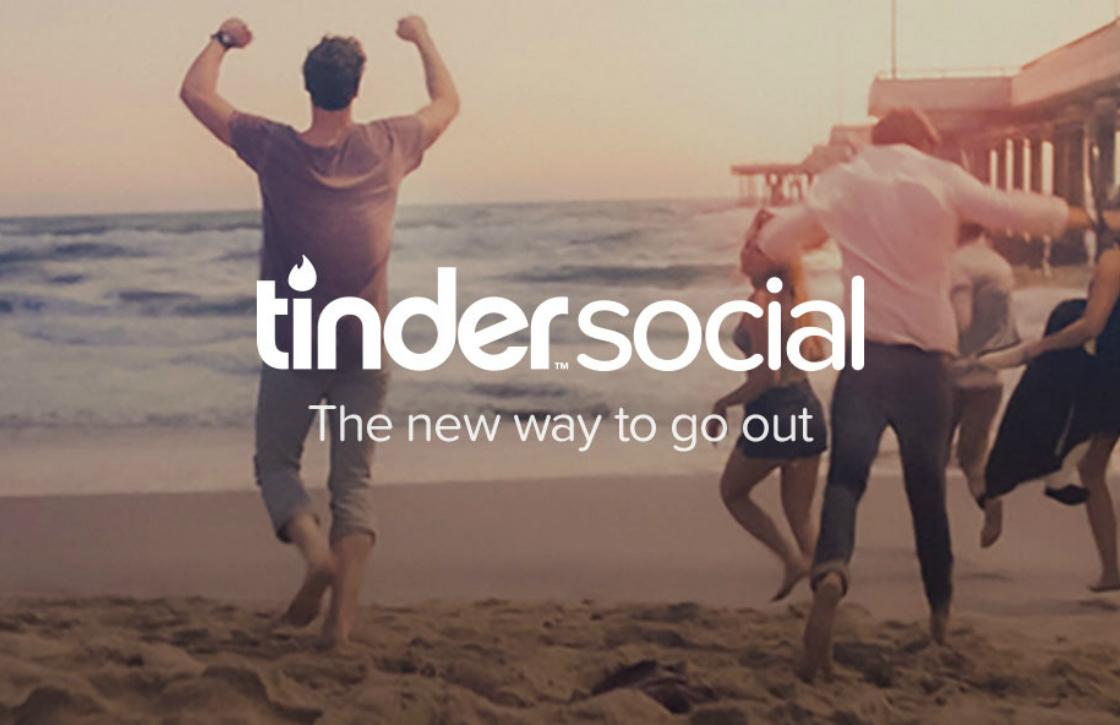 Tinder test vriendenzoekfunctie Tinder Social