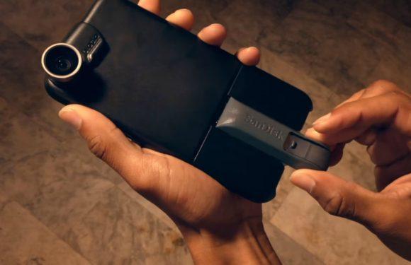 Modulaire case laat je accessoires toevoegen aan je iPhone