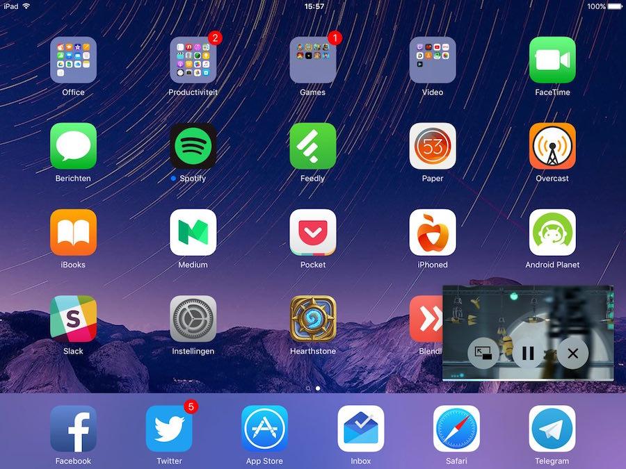 iPad Multitasken