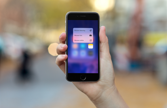 4 handige 3D Touch-tips voor de Notities-app