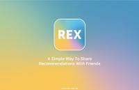Vind en deel je favoriete content met het sociale netwerk REX