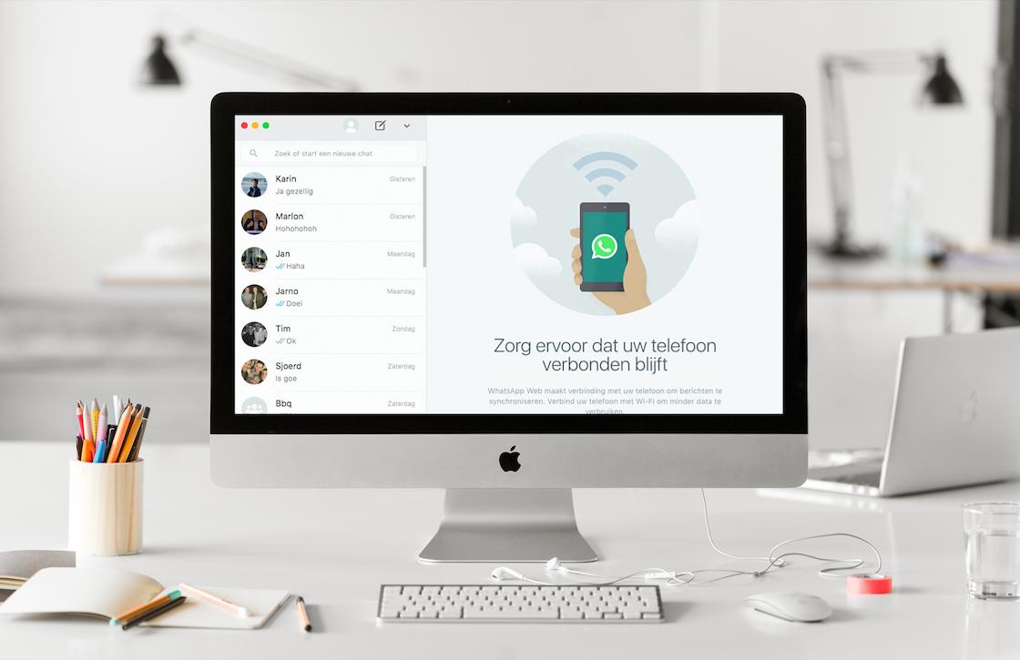 WhatsApp Web laat je nu documenten delen vanaf je desktop