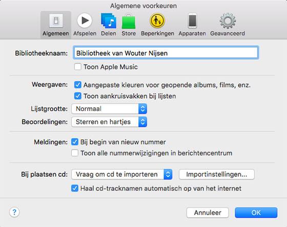 apple music verwijderen