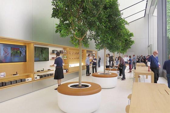 Apple Store vernieuwd