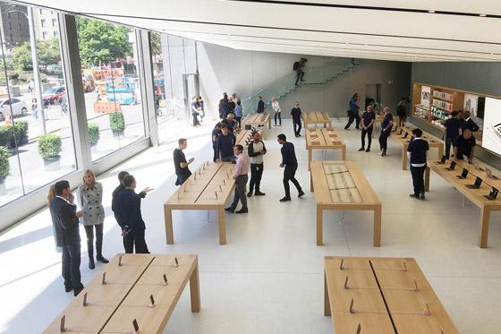 Apple Store-medewerkers