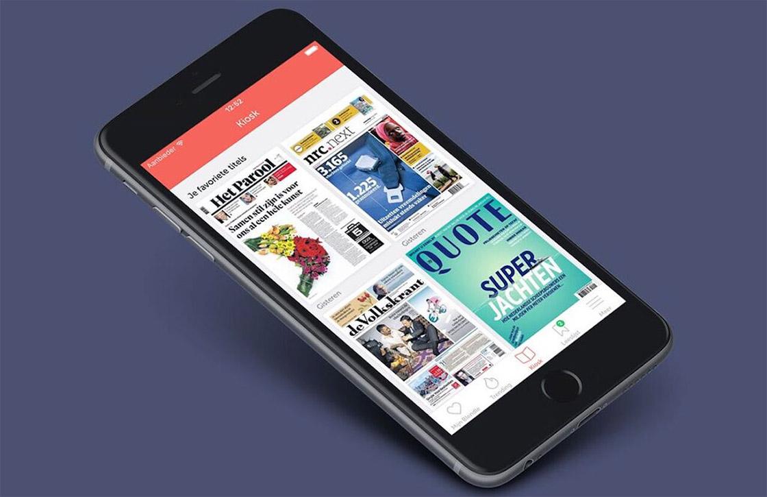 Blendle vernieuwt iOS-app met Kiosk en handige zoekfunctie