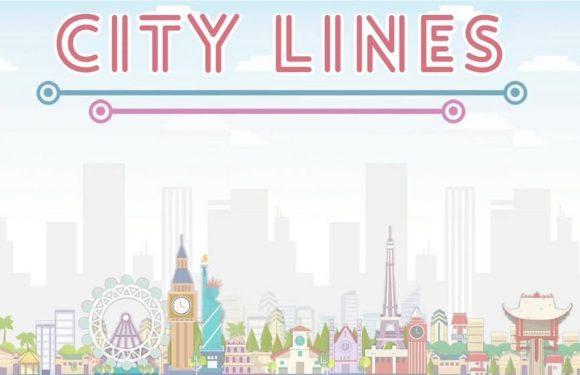 Trek lijnen en bouw steden in City Lines
