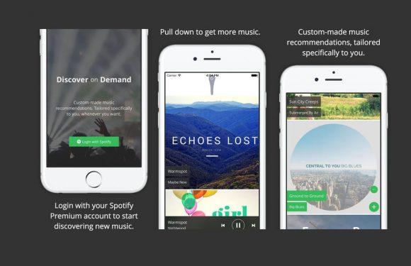 Ontdek eindeloos nieuwe muziek met Discover on Demand