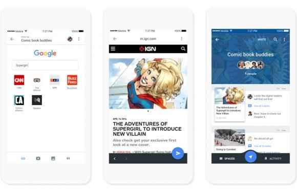 Spaces is Googles nieuwste sociale platform