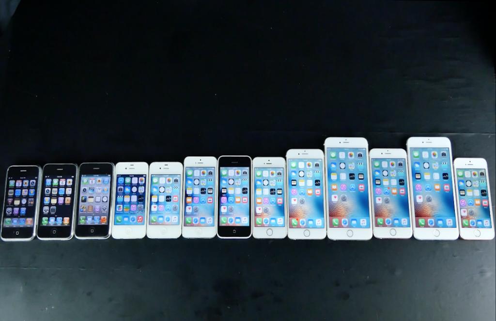 iPhone snelheidstest