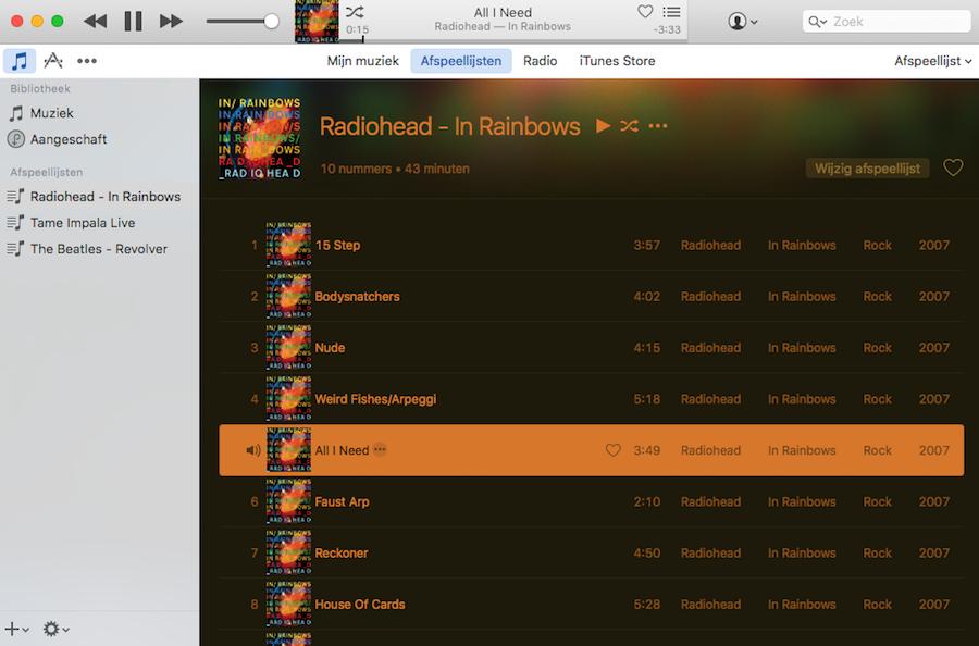 iTunes verbeteringen