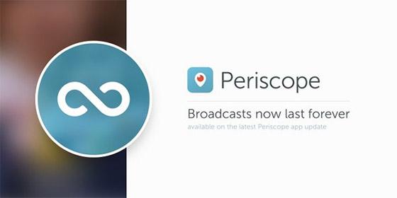 periscope streams opslaan