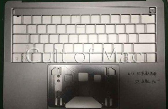 'Dit is de 2016 MacBook Pro-behuizing met OLED-balk en usb-c'