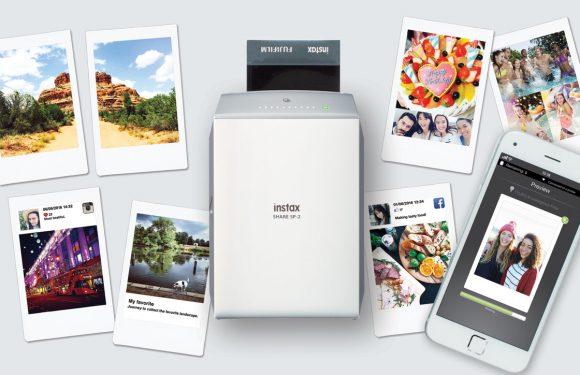 Deze nieuwe FujiFilm-printer drukt je iPhone-foto's in 10 seconden af