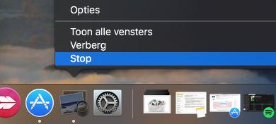 Mac prullenbak verwijdert niet