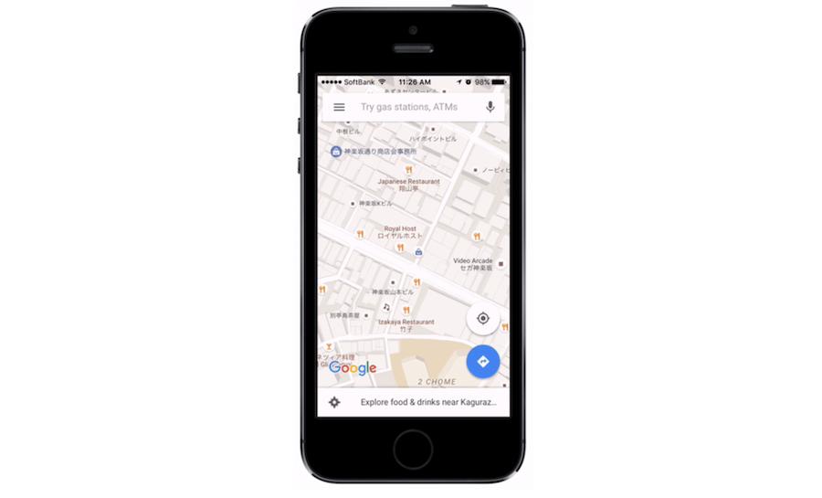 Google Maps winkelnamen vertalen
