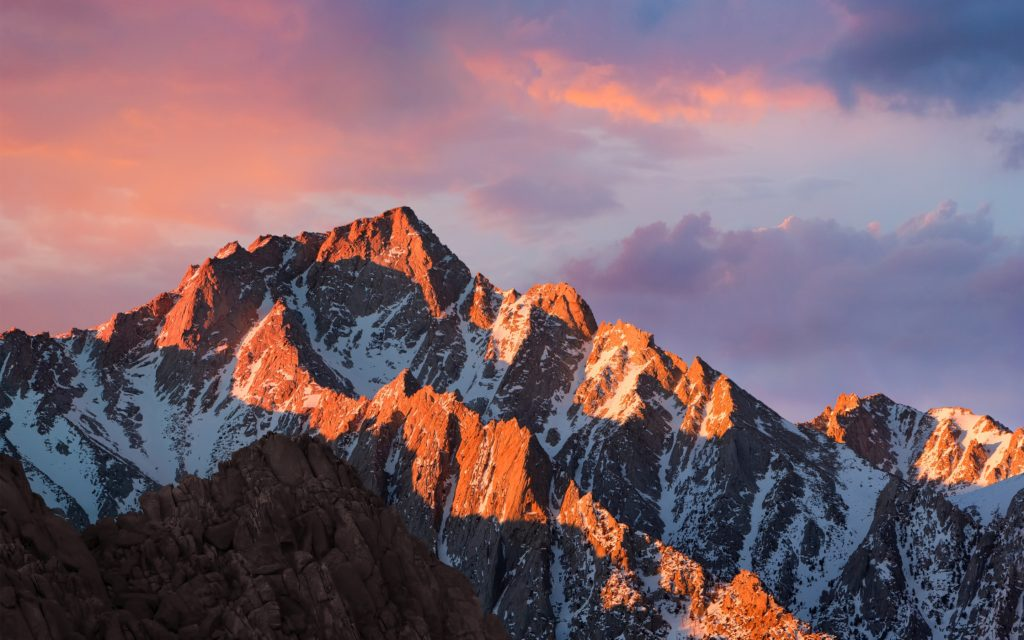 iOS 10 macOS Sierra wallpapers downloaden