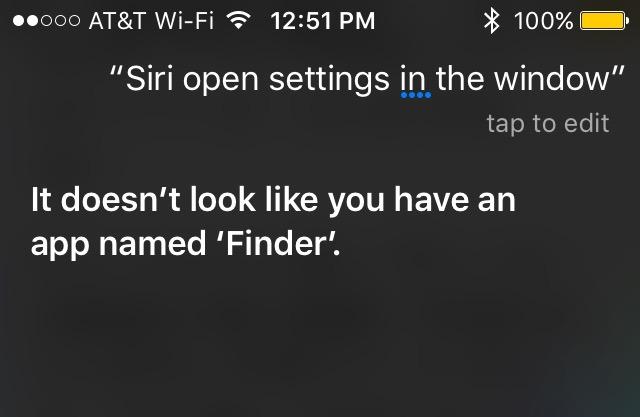 Siri WWDC Finder