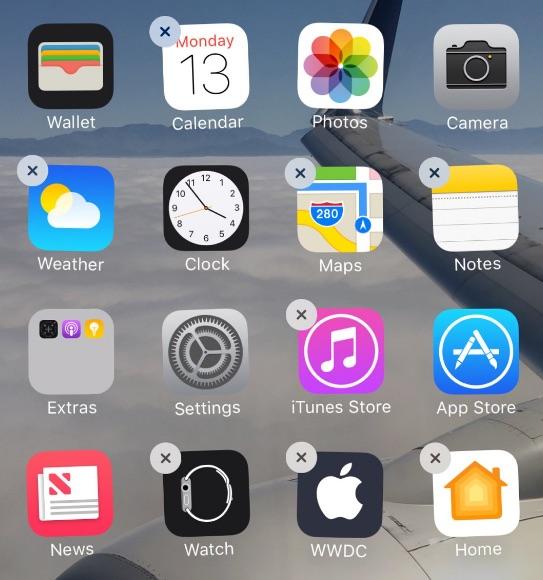 Standaard-apps verwijderen