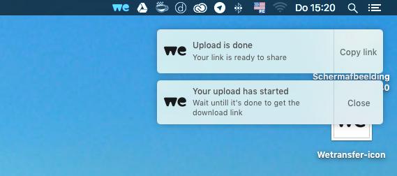 Wetransfer mac-app