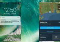Apple Maps onthoudt waar je auto geparkeerd staat in iOS 10