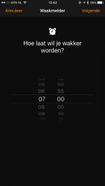 iOS 10 Bedtijd