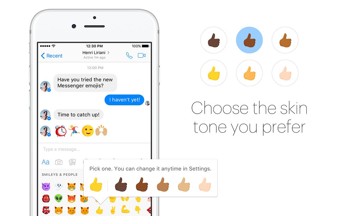 Facebook Messenger voegt diverse emoji toe aan app