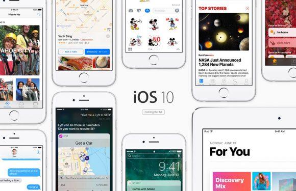 Meer iOS 10-onderdelen onversleuteld in tweede bètaversie