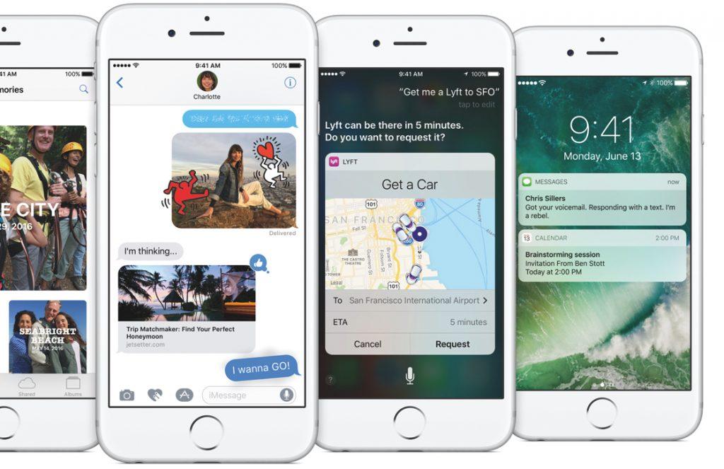 iOS 10 officieel