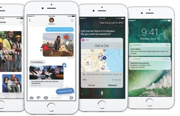 iOS 10 officieel onthuld: dit is er allemaal nieuw