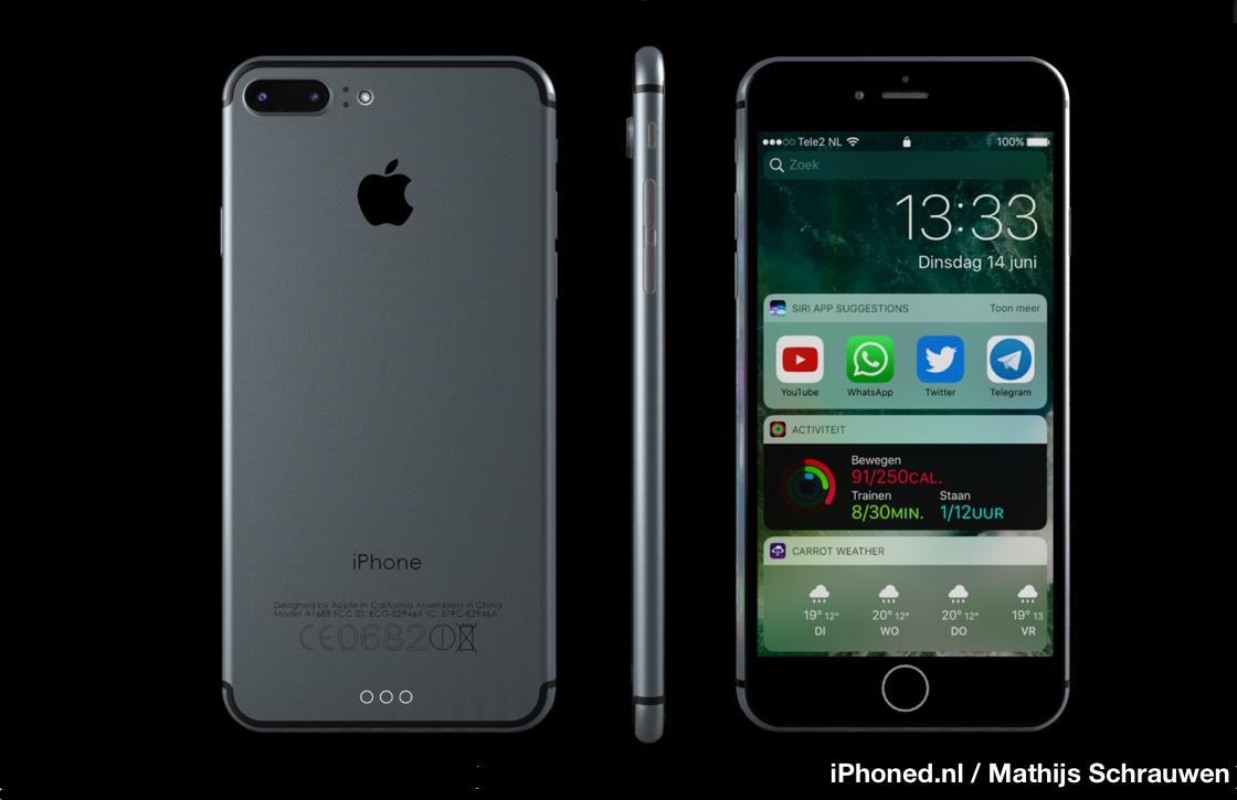 'iPhone 7 vanaf 23 september te koop in eerste groep landen'