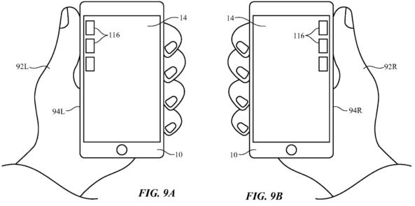 iPhone linkshandig