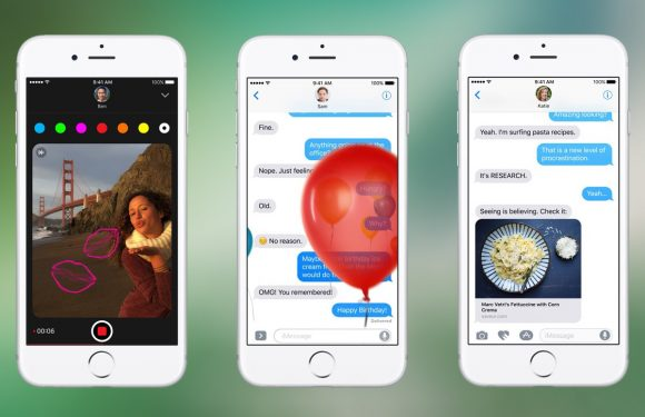 iMessage in iOS 10: doet de chat-app van Apple er weer toe?