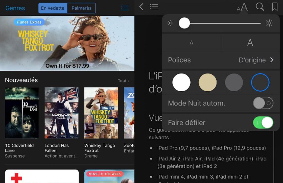 Toch aanwijzingen voor Dark Mode gevonden in iOS 10 bèta