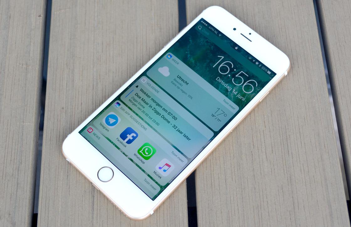 iOS 10 preview: ervaringen met de eerste ontwikkelaarsbèta