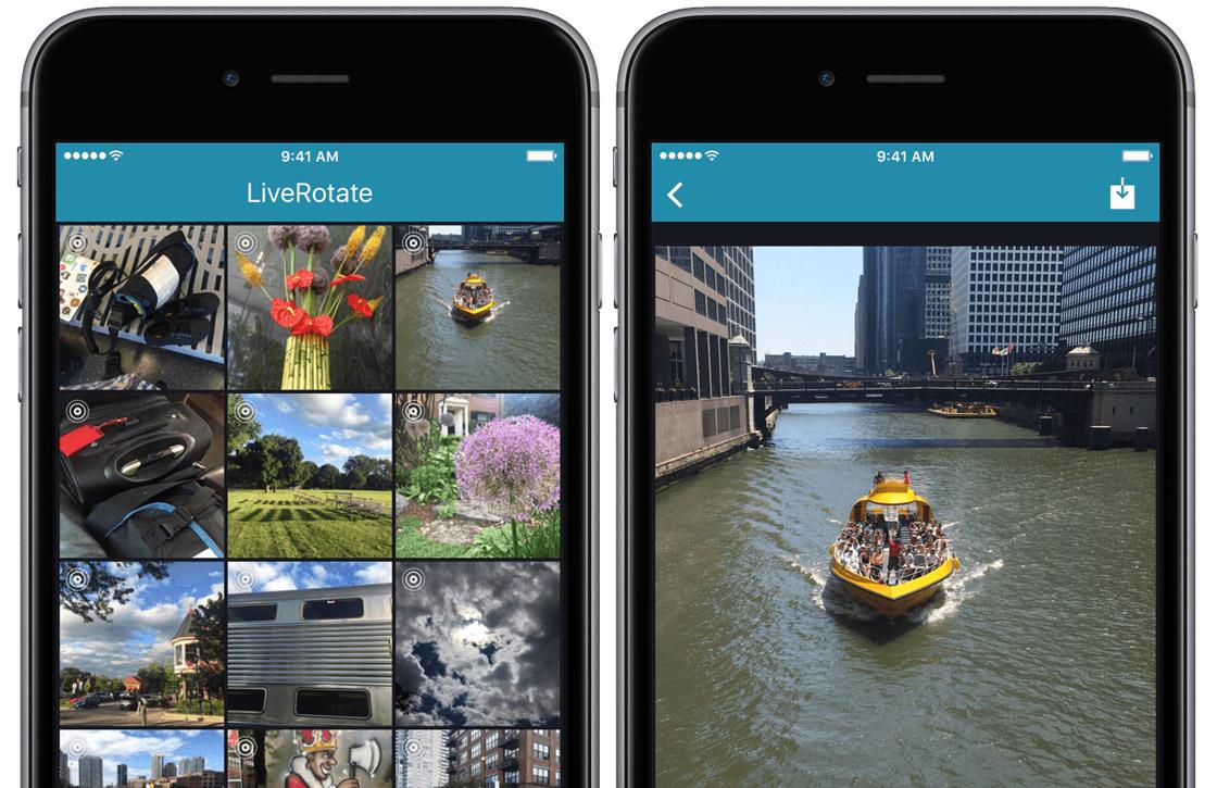 Dankzij deze app kun je Live Photos draaien