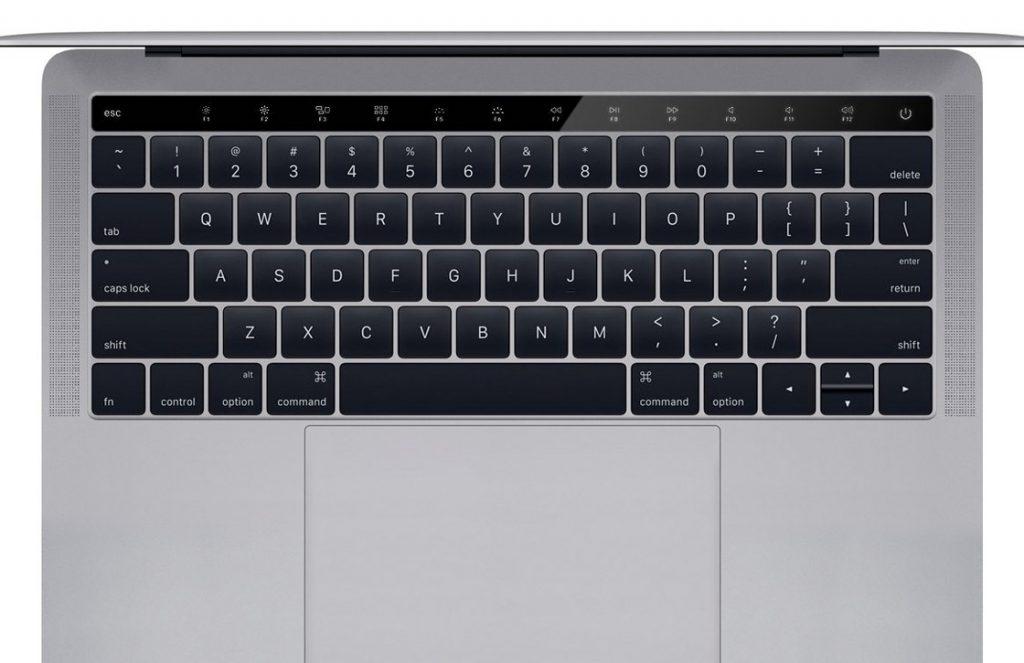 macbook pro oled-balk