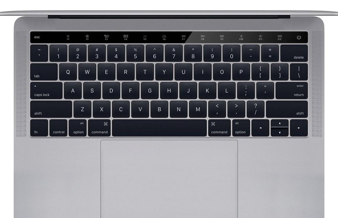 Concept: Zo kan een Macbook met OLED-balk eruit zien
