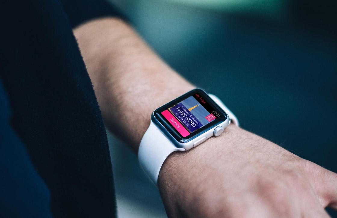 NS International-app biedt ondersteuning voor Apple Watch