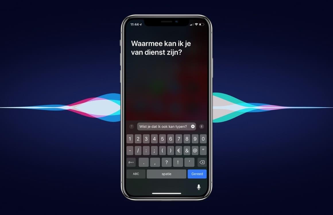 Vragen aan Siri intypen in plaats van uitspreken: zo werkt het
