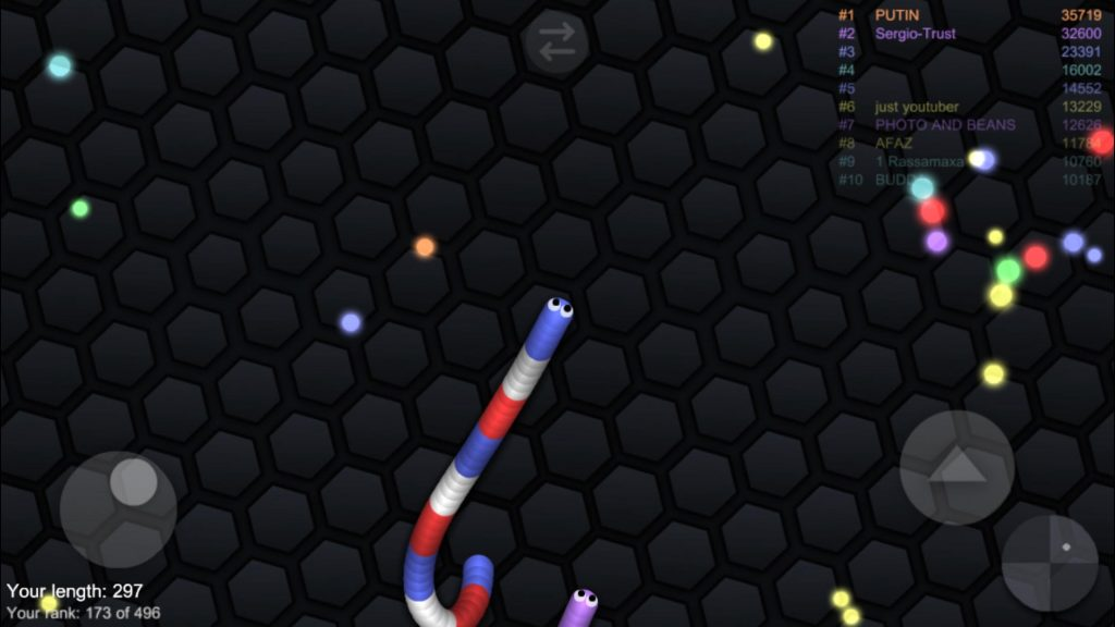 slither.io update