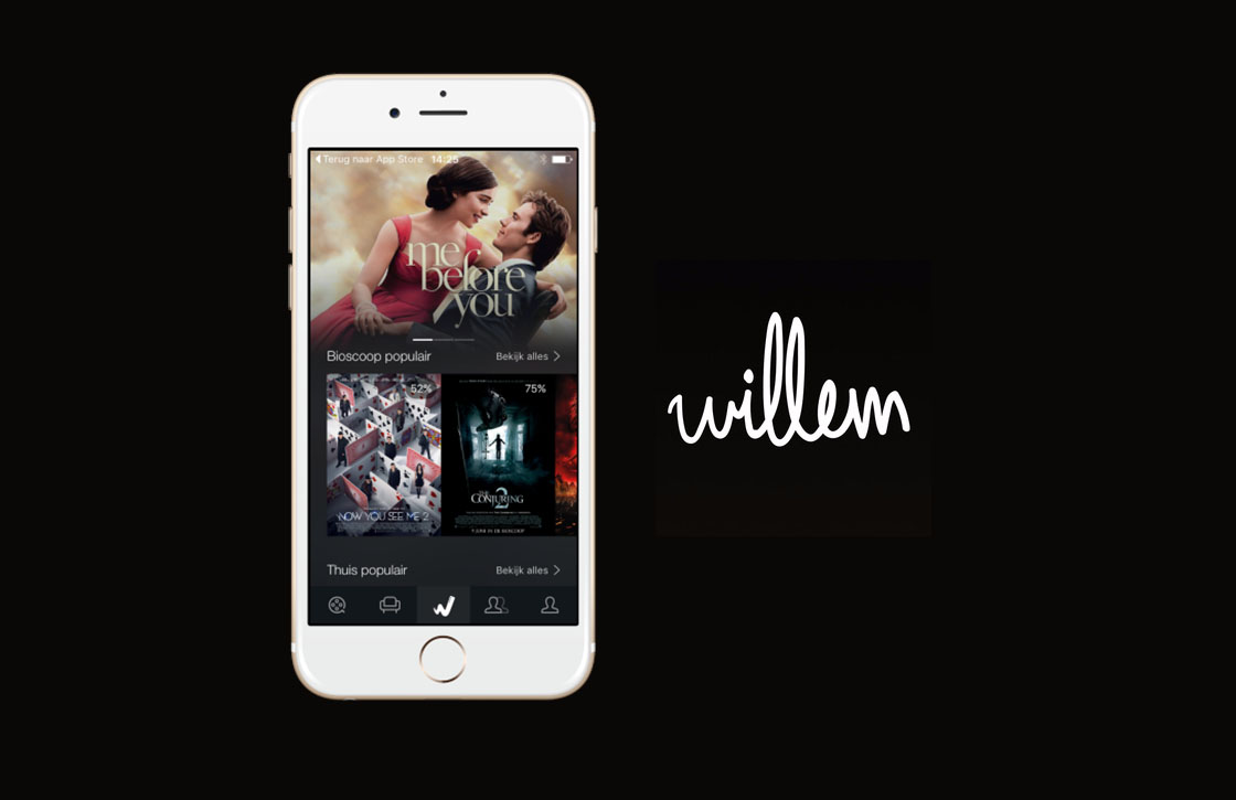 Met de Willem-app weet je welke (bioscoop)films de moeite waard zijn