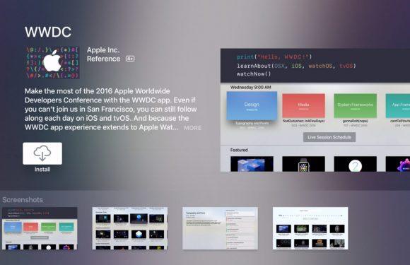 Update voor Apples WWDC-app met nieuw uiterlijk