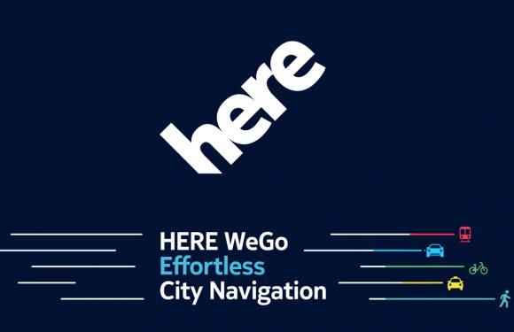 HERE WeGo helpt je met slim navigeren, ongeacht je vervoersmiddel