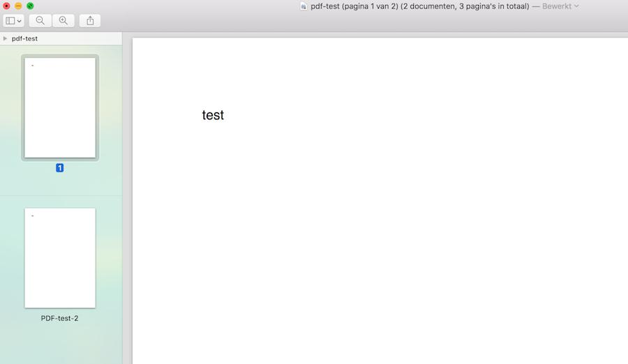 PDF-bestanden combineren