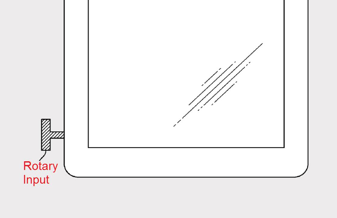 Apple patenteert Apple Watch-achtige kroon voor iPhone