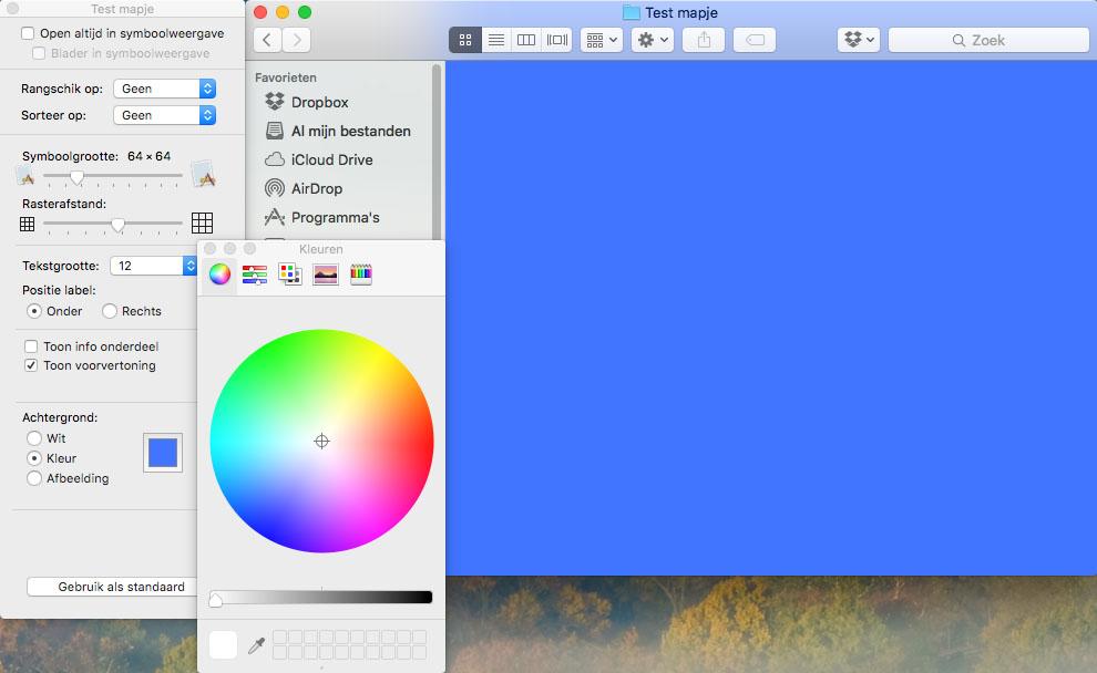 finder kleuren