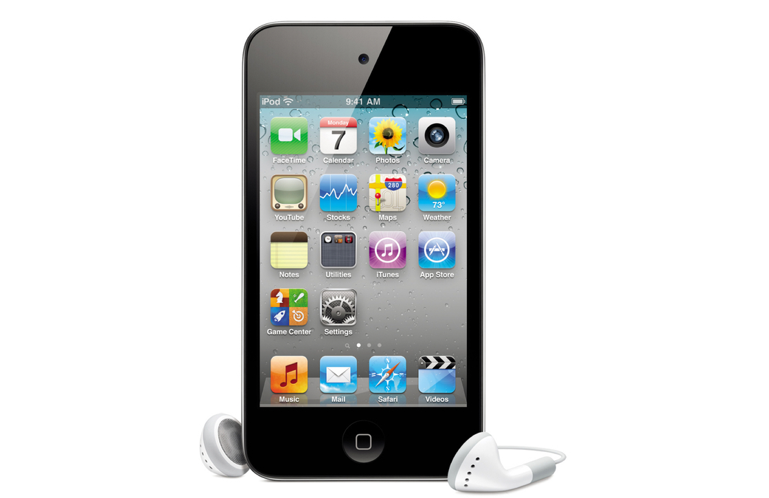 iOS 4 iPod touch