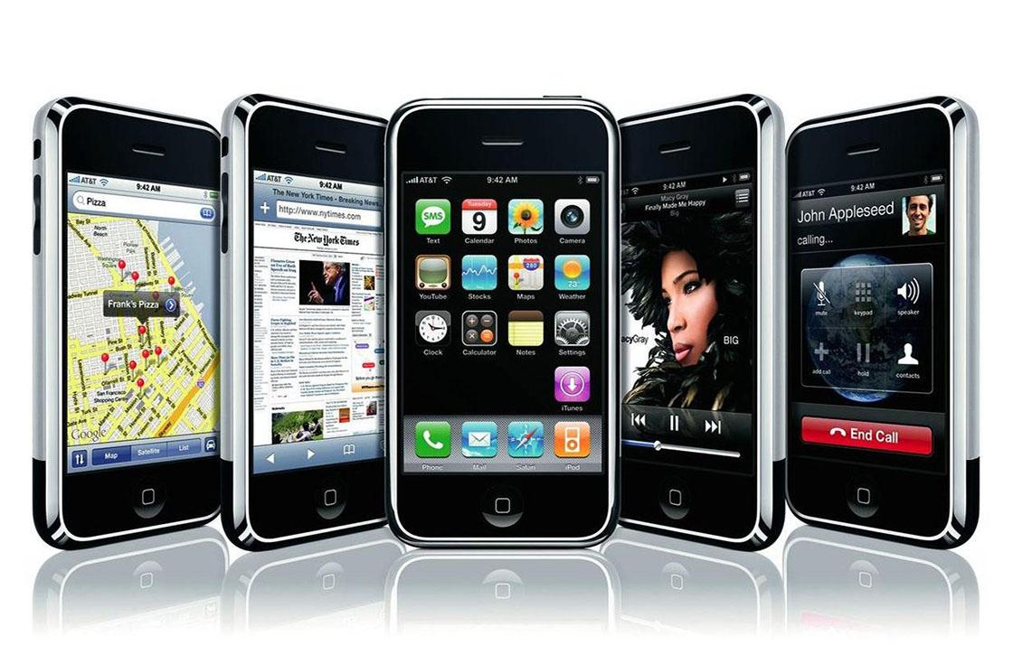 iPhone OS 1, 2, 3